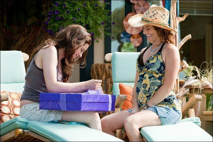 Quand Bella revoit-elle sa mère (dans toute la saga) ?