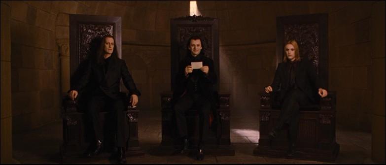 Qui sont les trois Volturi principaux ?