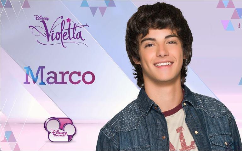 Qui Marco aime-t-il ? (Elle va intégrer le studio. )