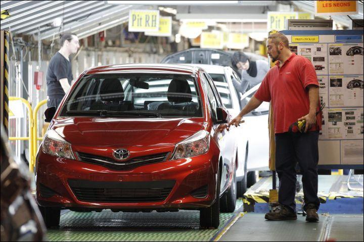 L'usine Toyota d'Onnaing (Nord-Pas-de-Calais) a assemblé depuis 1999 plusieurs millions de Toyota Yaris pour l'Europe toute entière. Depuis 2013, pour quel pays assemble t-elle également ?