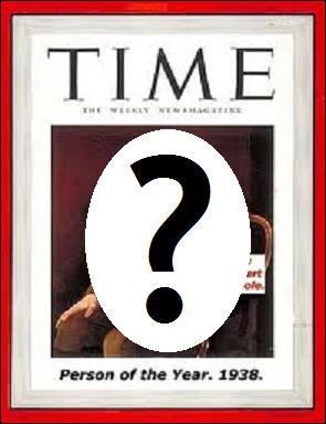 Société - Qui a été élu  personnalité de l'année  par le Time Magazine en 1938 et a fait la couverture de l'hebdomadaire à cette occasion ?
