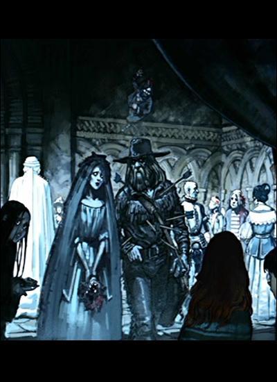Dans le tome 2, Harry, Ron et Hermione se rendent à un anniversaire de mort. Lequel ?
