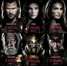 Lequel des ces acteurs n'est pas dans Thor 2 ?