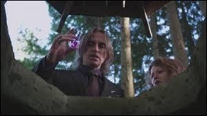 À la fin de la saison 1, pour quelle raison Rumplestiltskin jette-t-il, dans un puits magique, la fiole qui devait servir à sauver Henry de son sommeil ?