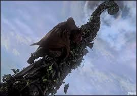 Pour quelle raison Emma et le Capitaine Crochet empruntent-ils le haricot magique pour aller dans le monde des géants ?