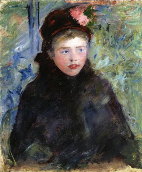 Quelle femme peintre, amie de Degas et souvent rattachée au mouvement impressionniste, a peint  Suzan avec une toque garnie de deux roses  ?
