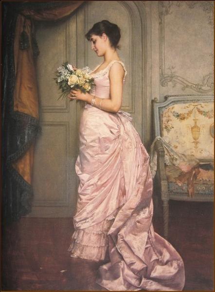 Cousin par alliance de Claude Monet, célèbre pour ses portraits de femme élégante et bourgeoise, il a réalisé  Le billet  en 1883. Qui est ce peintre ?