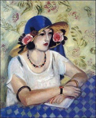 Quel grand peintre fauviste a réalisé  La femme au chapeau italien  ?