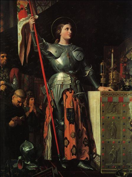 Comment était surnommée Jeanne d'Arc qui porta secours à Charles VII le roi victorieux ?
