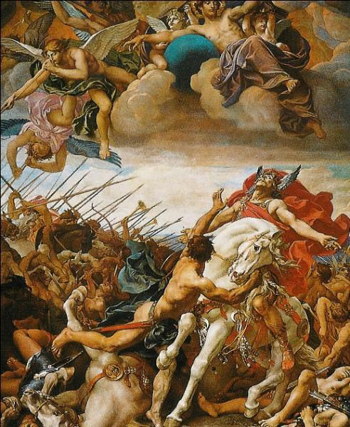 Pendant quelle bataille Clovis dit-il :  Dieu de Clotilde, je croirai en toi si tu me donnes la victoire  ?