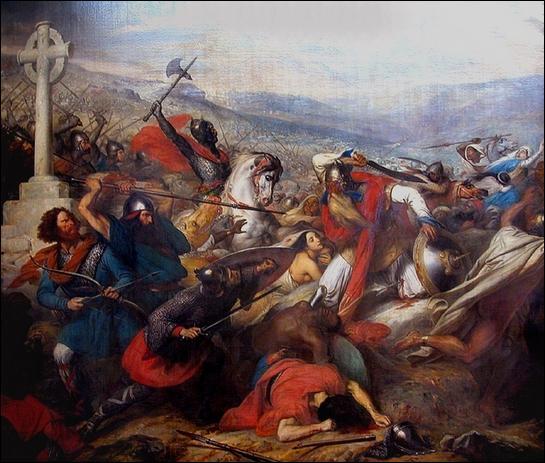 Qui battit les Sarrasins à Poitiers en 732 ?
