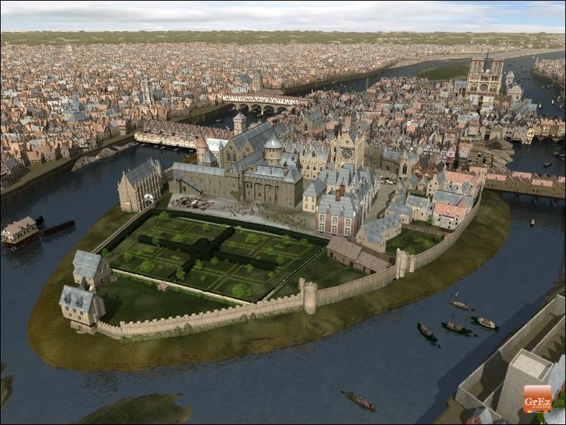 Que fait construire le roi Philippe Auguste à Paris ? (plusieurs réponses)