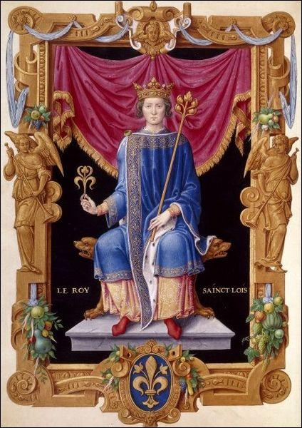 Quel célèbre chroniqueur raconta la vie de Saint Louis (Louis IX) ?