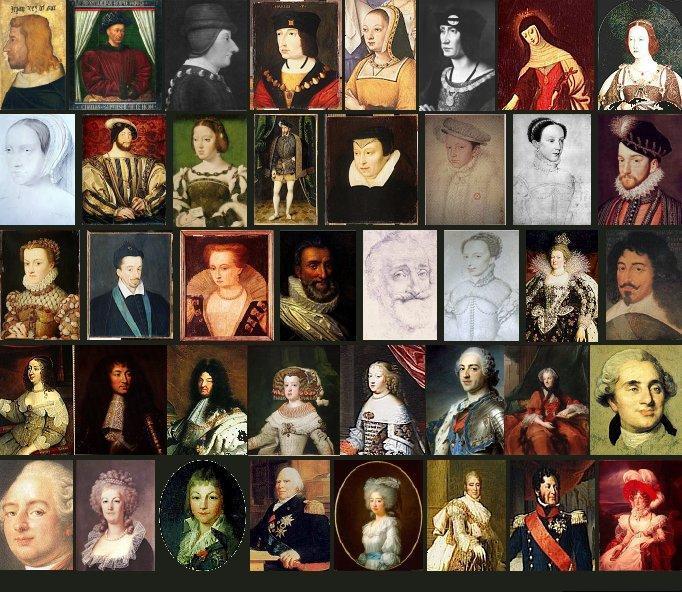 Les rois de France II