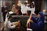 Pendant quelle fête retrouve-t-on cette image dans la série ?