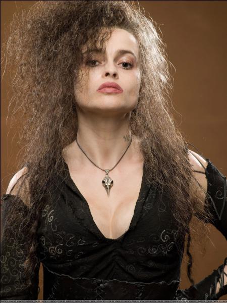 Elle est méchante ; c'est la soeur de Mme Malefoy. Qui est-ce ?