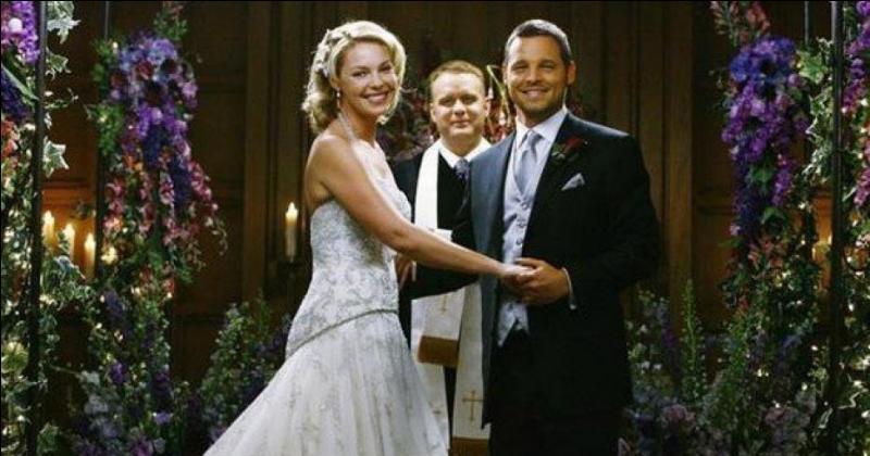 Grey's anatomy : Avec qui Alex se marie-t-il ?