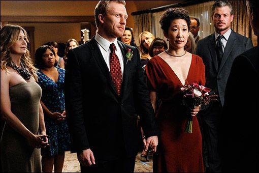 Grey's anatomy ; Comment s'appelle le dernier mari de Cristina ?