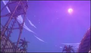 Avec quelle armure Erza détruit-elle la lune (ou la voûte) ?