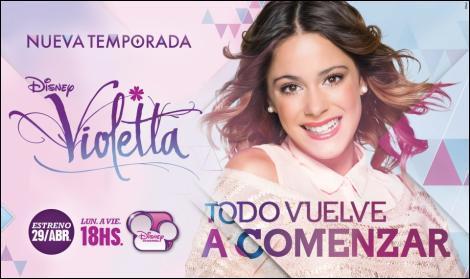 Quelle est la première chanson que chante Violetta ?