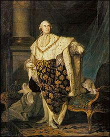 Quel était le nom du dernier roi de France, avant la Révolution française ?