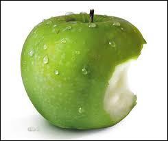Une pomme de campagne...