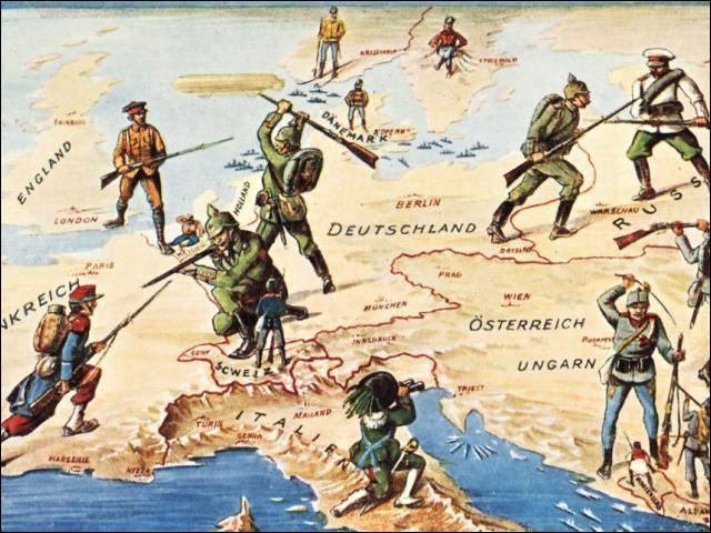 Quelle ville française d'importance est occupée dès le 4 septembre 1914 ?