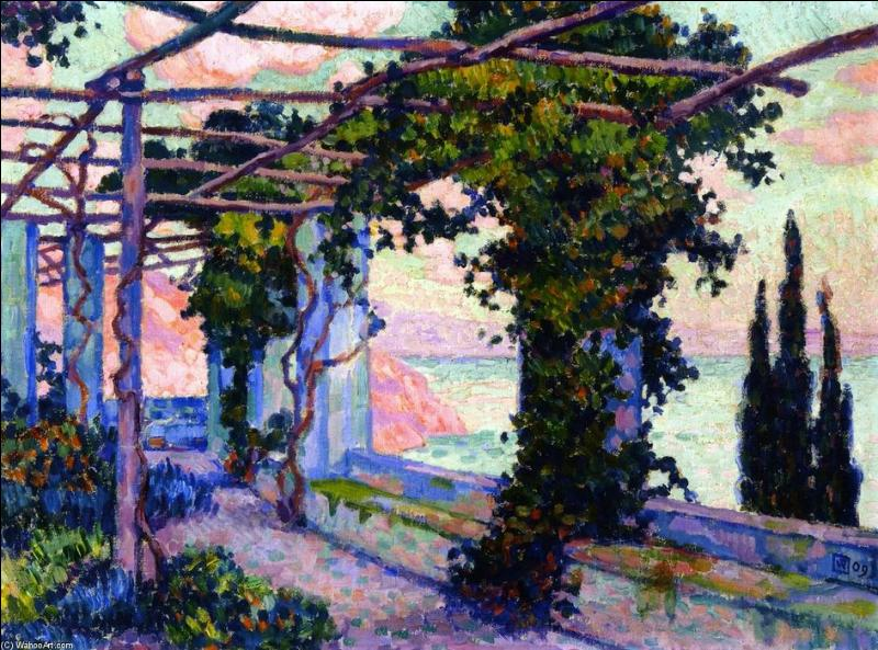Terrasse de l'hôtel Palumbo à Ravello.