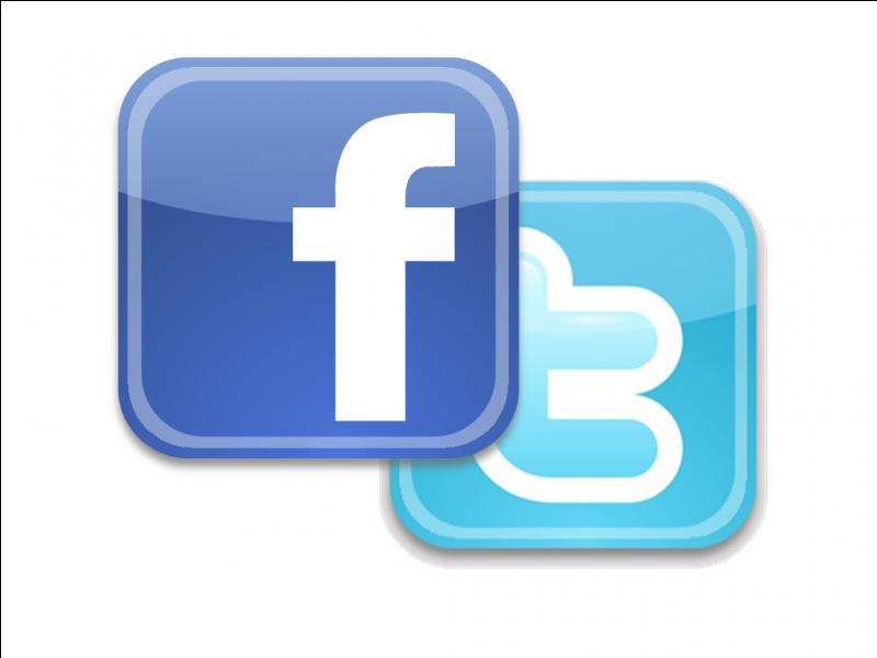A-t-elle un compte Facebook ou Twitter ?