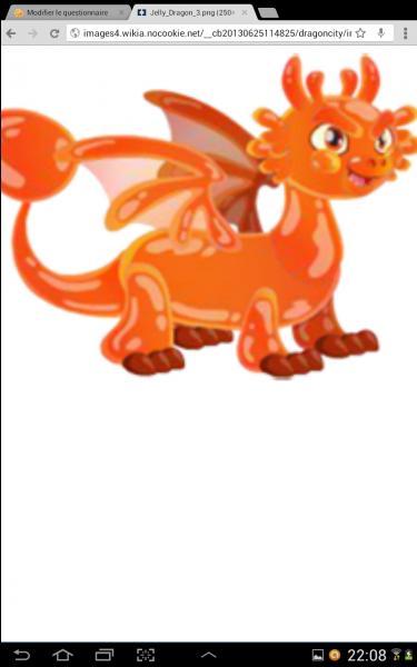 De quel type sont ces dragons :  Dragon gelé  ?