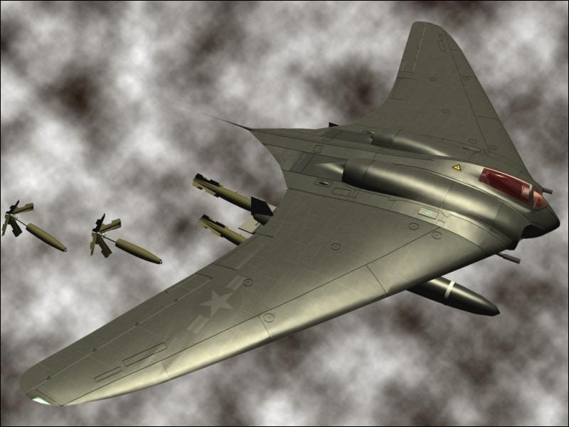Ce Horten 229 fut la première aile volante à réaction. Ou et quand fut-elle développée ?