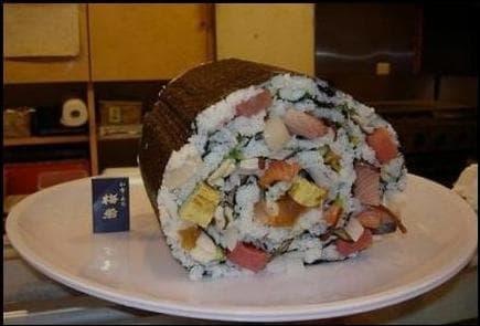 Quel aliment n'entre pas dans la composition d'un sushi ?