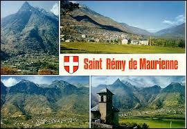 Je vous envoie une carte postale de Saint-Rémy-de-Maurienne. Cette commune rhônalpine se situe dans le département n° ...