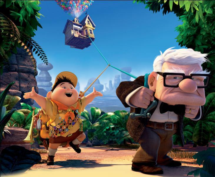 Dans quelle société de production le film d'animation  Là-haut  a-t-il été réalisé ?
