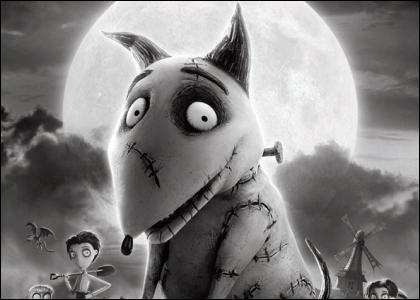 Dans quelle société de production le film d'animation  Frankenweenie  a-t-il été réalisé ?