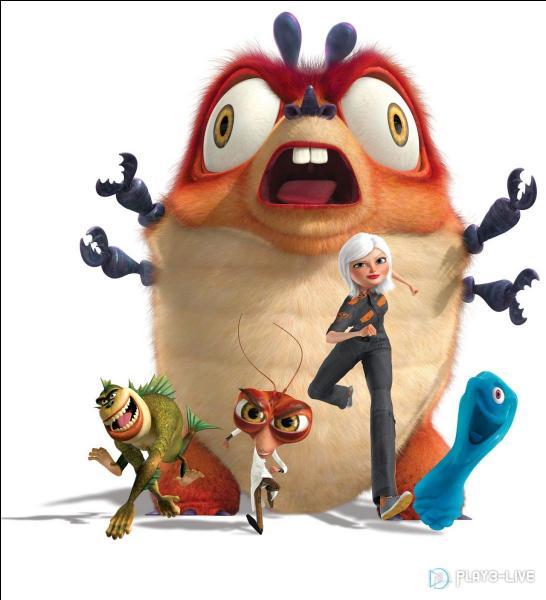 Dans quelle société de production le film d'animation  Monstres contre Aliens  a-t-il été réalisé ?