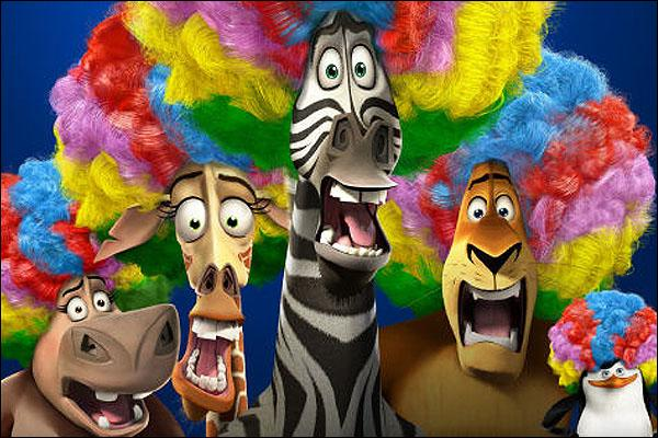 Dans quelle société de production le film d'animation  Madagascar 3  a-t-il été réalisé ?