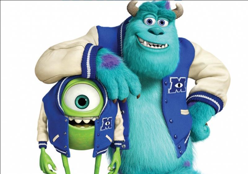 Dans quelle société de production le film d'animation  Montres Academy  a-t-il été réalisé ?