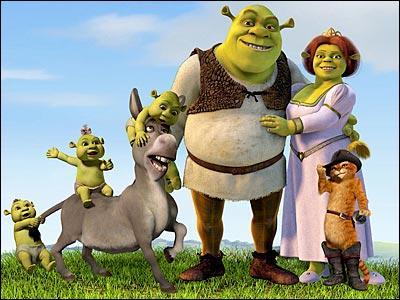 Dans quelle société de production le film d'animation  Shrek 4  a-t-il été réalisé ?