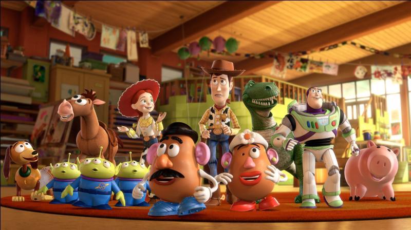 Dans quelle société de production le film d'animation  Toy Story 3  a-t-il été réalisé ?