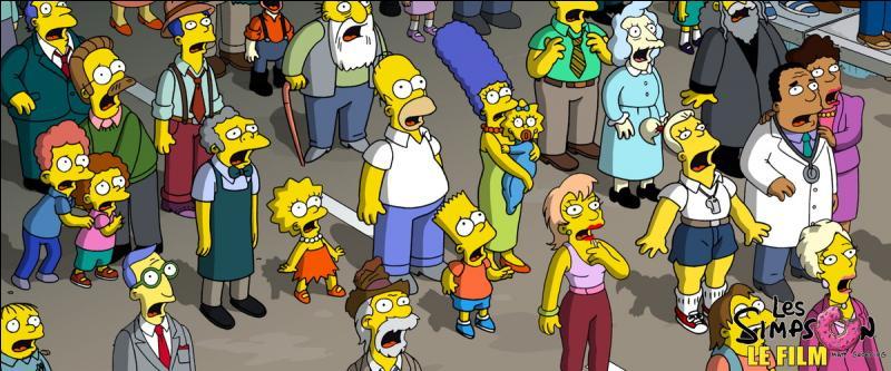 Dans quelle société de production le film d'animation  Les Simpson, le film  a-t-il été réalisé ?