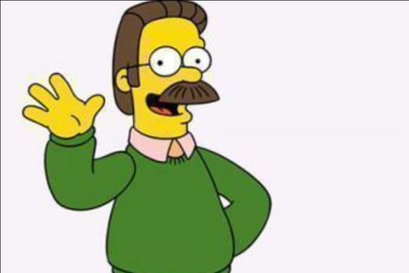 Qui est le voisin des Simpson ?