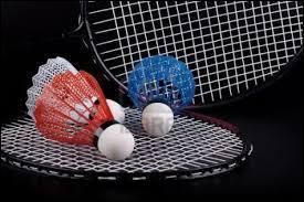 Sport - Le badminton est un sport de raquette qui oppose toujours deux joueurs :