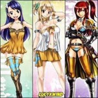 Connaissez vous les filles de 'Fairy Tail' ?