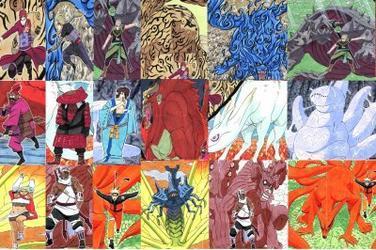 Naruto : les bijûs