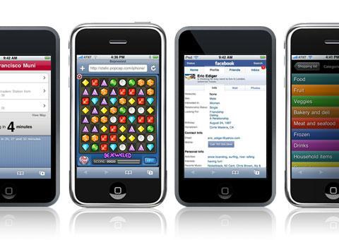 Les différents téléphones portables