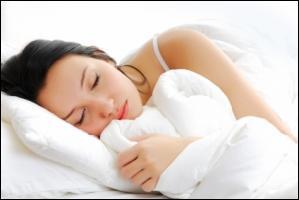 Celui-ci, ce n'est pas un bon chiffre, combien passe-t-on de temps à chercher le sommeil ?