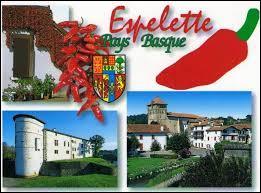 Nous partons à Espelette, commue réputée pour son piment. Nous serons en région ...