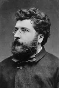 Je suis un compositeur de style romantique, né le 25 octobre 1838 à Paris et décédé d'un infarctus dans la nuit du 2 au 3 juin 1878 à Bougival (Yvelines). Ma sépulture se situe dans la division n°68. J'ai composé des œuvres comme  Chants du Rhin  (1865),  l'Arlésienne  (1872), mais ma plus célèbre composition est un opéra :  Carmen  en 1875. Qui suis-je ?