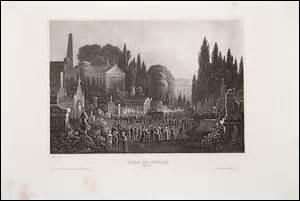 Plusieurs autres cimetières sont créés en dehors de la capitale à cette époque : celui de Montmartre (au nord) qui ouvre le 1er janvier 1825, le cimetière de Montparnasse (au sud), inauguré au début du XIXe siècle, le cimetière de Passy (à l'ouest), ouvert en 1820 et le cimetière de Belleville et du Père-Lachaise (à l'est). Mais quelle est la date et l'année de l'ouverture de ce dernier ?